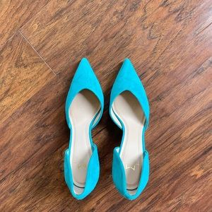 Teal Pumps by Marc Fisher LTD